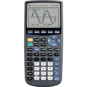 TI82 Plus choix de la calculatrice