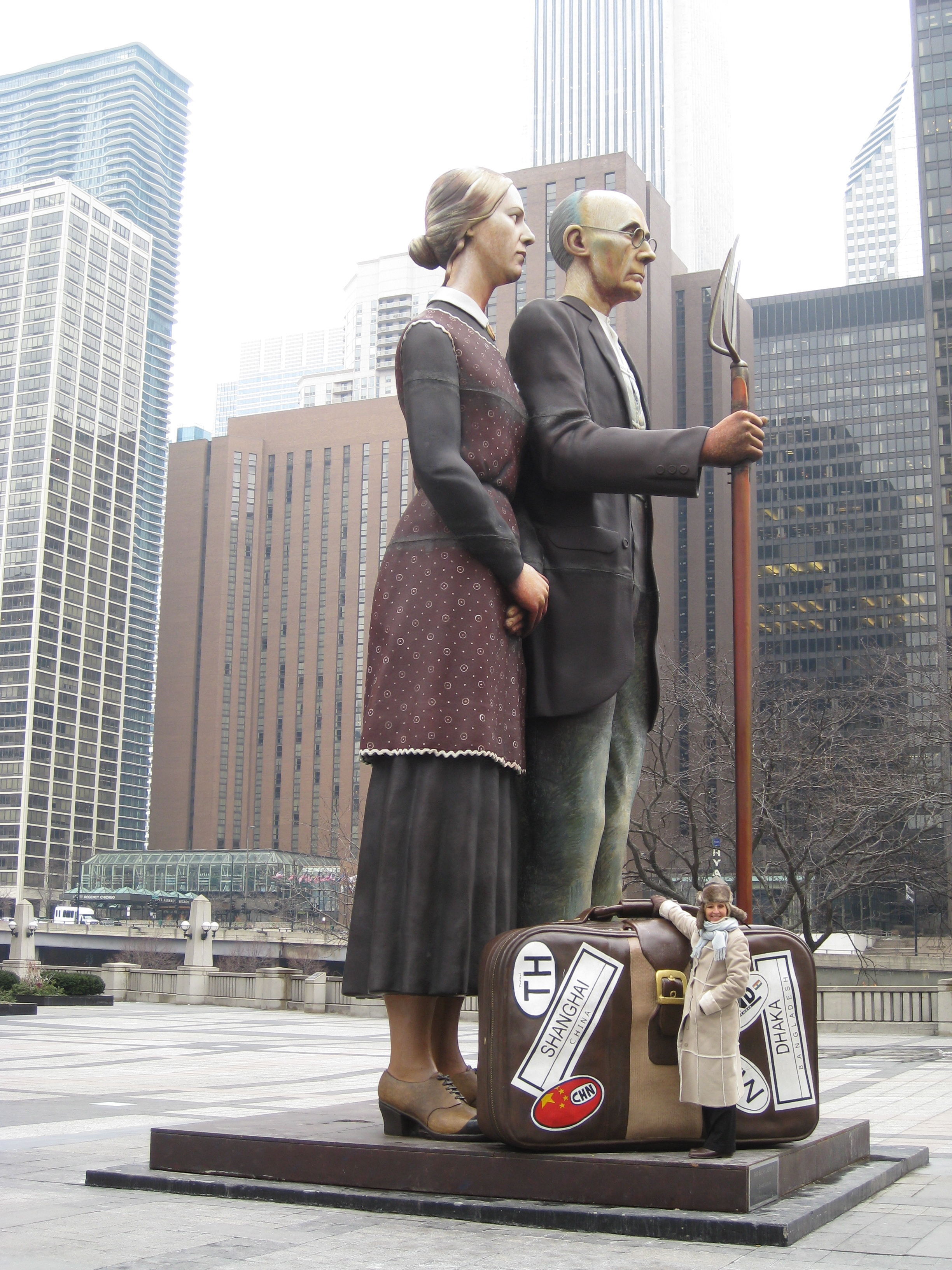 GRANT WOOD'S AMERICAN GOTHIC IN CHICAGO
