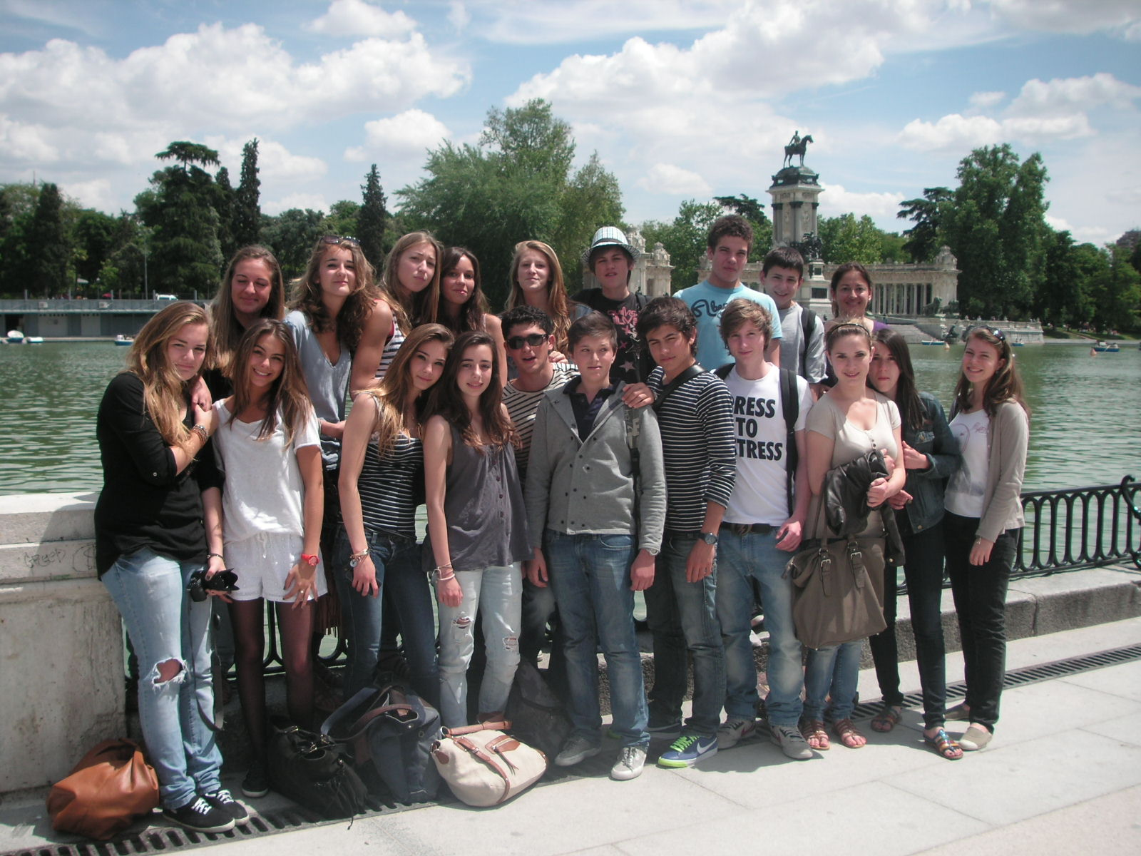 MADRID Photo de groupe
